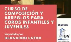Escolanía de Tomares: Curso decomposición y arreglos para coros infantiles y juveniles 2019