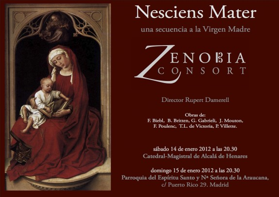 Zenobia Consort. Música antigua. Early Music