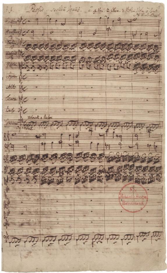 Bach BWV 245