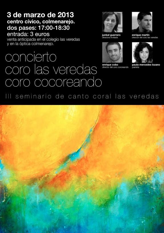 cartel 3 de marzo las veredas