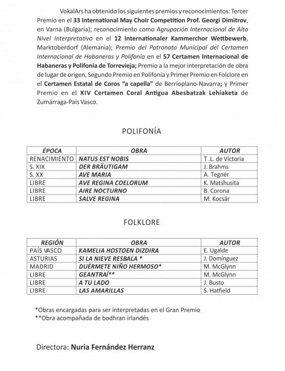 Programa Coral 2013-11