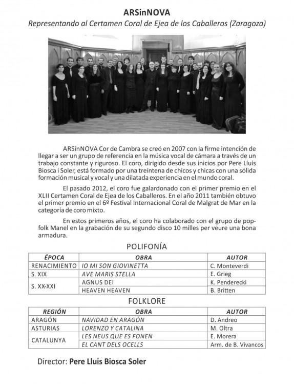 Programa Coral 2013-7