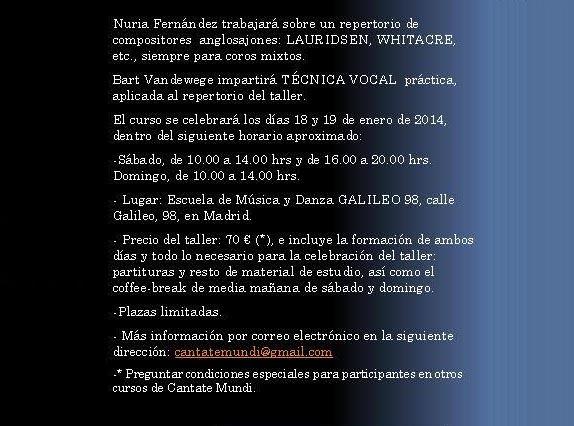 Cantate Mundi 3 info