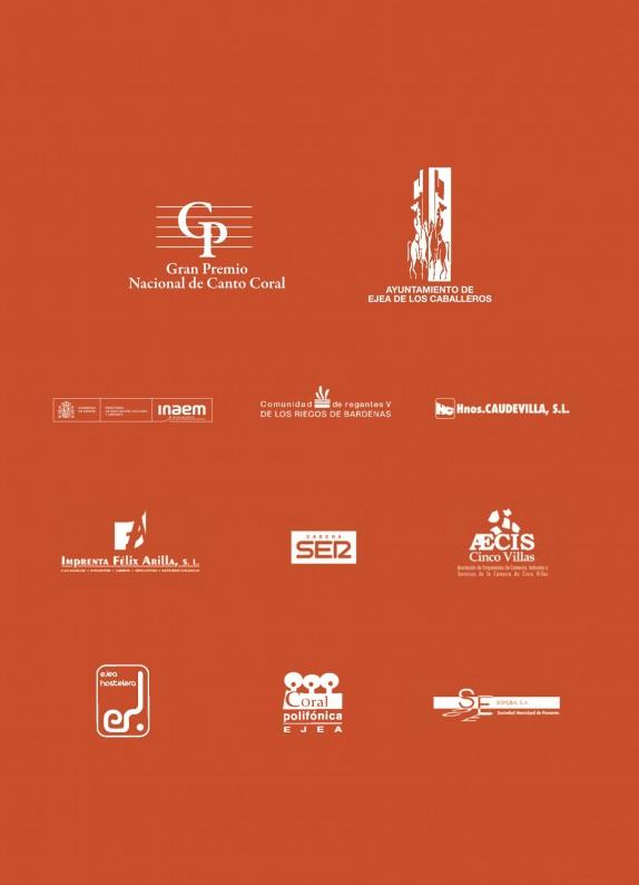 Programa de mano del GP Ejea 2014-12