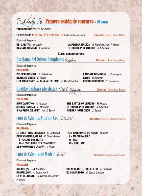 Programa de mano del GP Ejea 2014-4