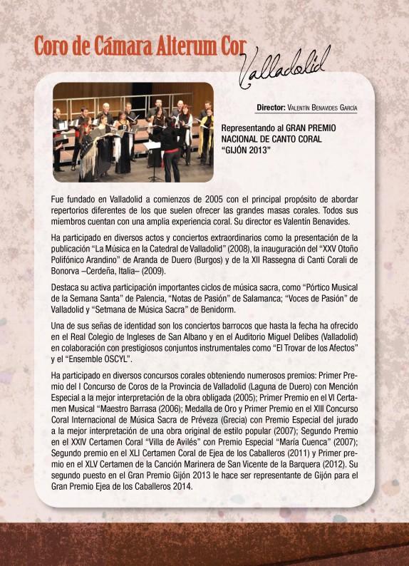 Programa de mano del GP Ejea 2014-8