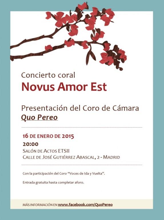 Novus Amor est - Quo Pereo