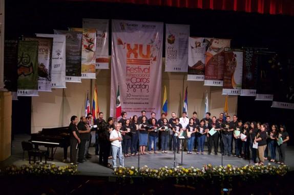 Cierre de talleres Festival Internacional de Coros Yucatán 2015
