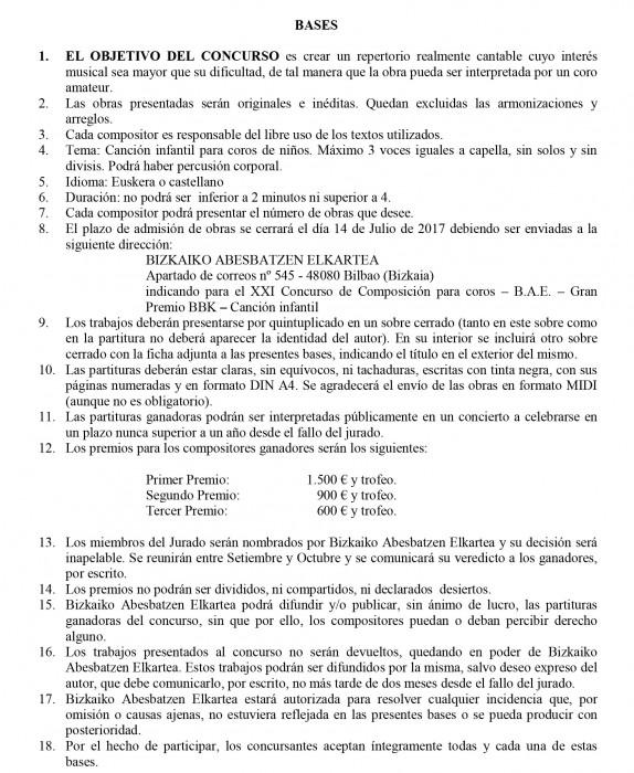 Bases Concurso Composición 2017