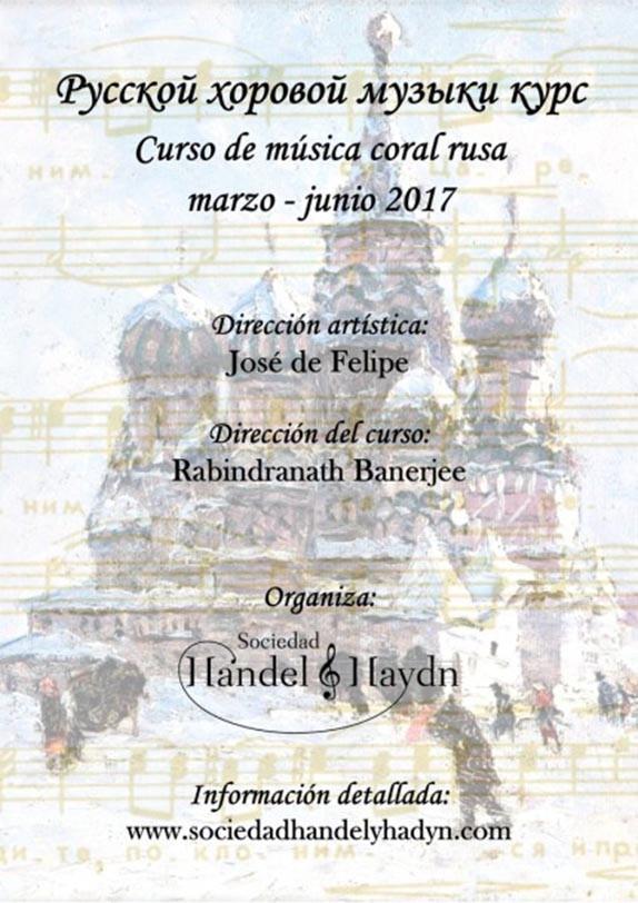 Curso de música coral rusa - SHH-Cartel