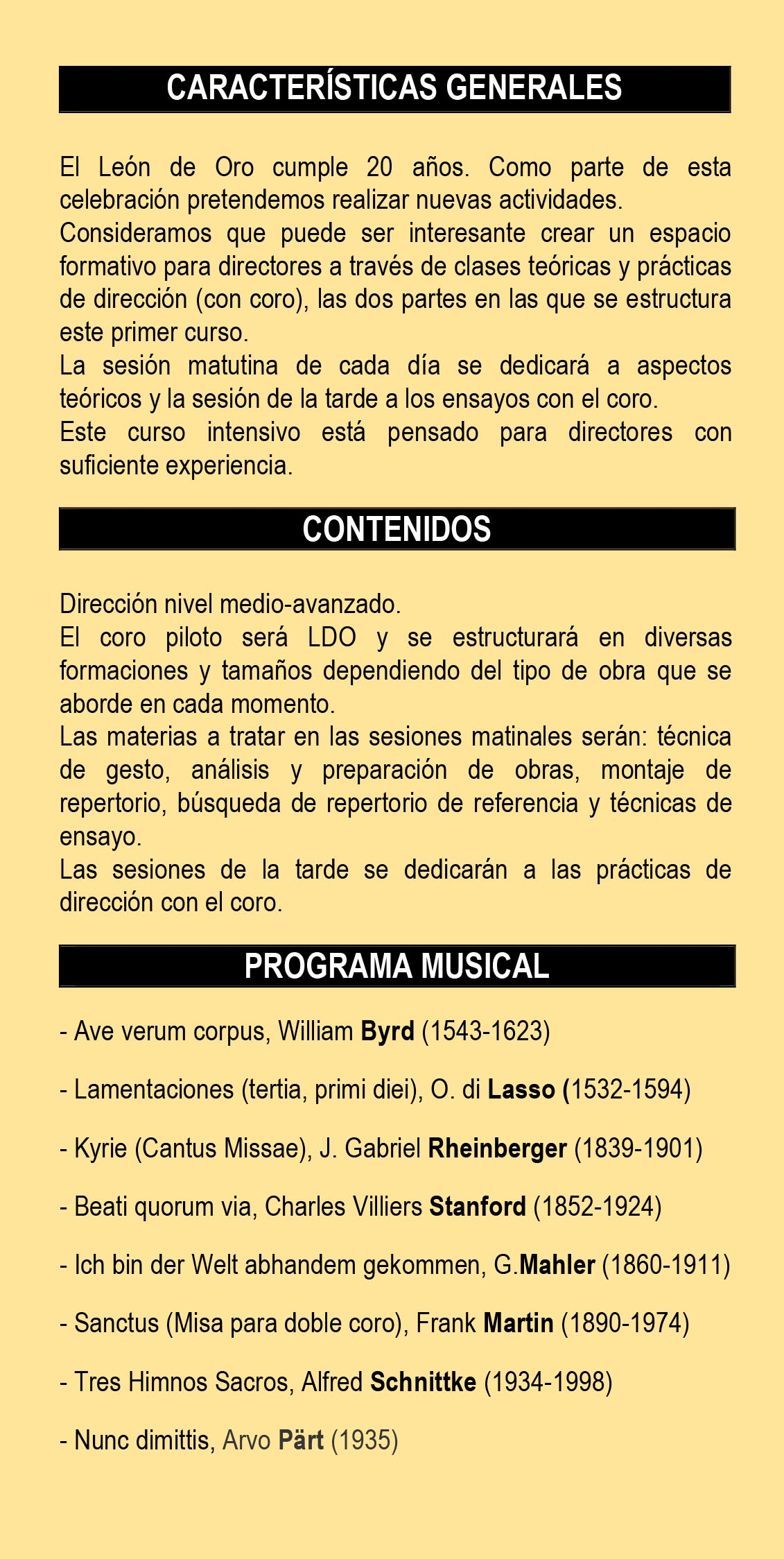 I CURSO DE DIRECCIÓN LDO 2017-2