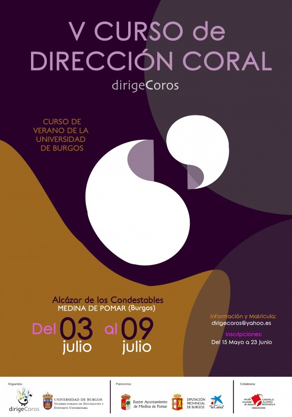 cartel_CursoDireccionCoral_julio2017