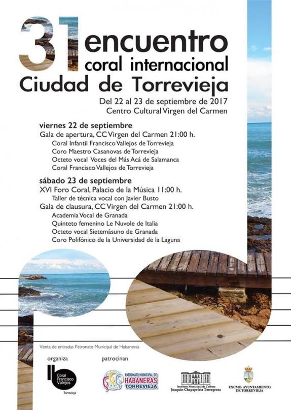 31 Encuentro Coral Ciudad de Torrevieja
